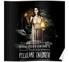 miss peregrines home for peculiar children the movie 2016 Poster