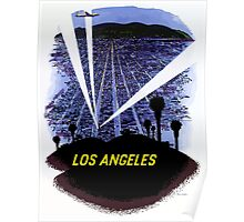 Vintage Airline Los Angeles California Travel Poster