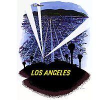 Vintage Airline Los Angeles California Travel Photographic Print
