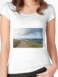 The Path to Godrevy Women's Fitted Scoop T-Shirt