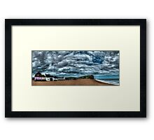 West Bay Framed Print