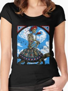 Grateful Dead - Terrapin Station Women's Fitted Scoop T-Shirt