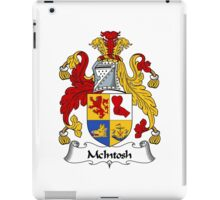 McIntosh Coat of Arms / McIntosh Family Crest iPad Case/Skin
