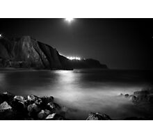 Black Moonlight Photographic Print
