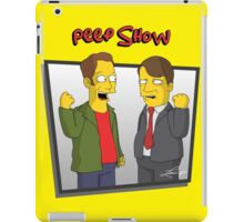 Peep Show - El Dude Brothers - Simpsons Style! iPad Case/Skin