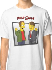 Peep Show - El Dude Brothers - Simpsons Style! Classic T-Shirt