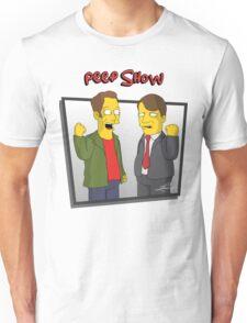 Peep Show - El Dude Brothers - Simpsons Style! Unisex T-Shirt