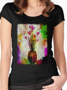 Freesias Women's Fitted Scoop T-Shirt