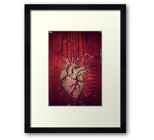 unchain my heart Framed Print