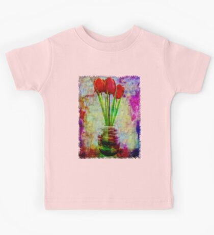 Three Tulips Kids Tee