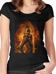 The Spirit Within Women's Fitted Scoop T-Shirt