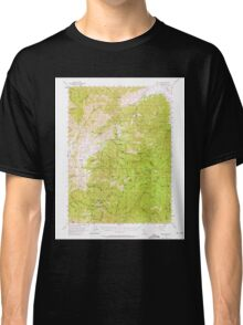 USGS TOPO Map California CA China Mountain 297089 1955 62500 geo Classic T-Shirt