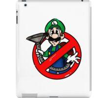 Ghostbuster Mashup Luigi iPad Case/Skin