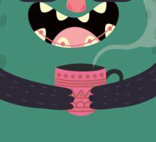 Tea monster Sticker