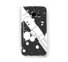 Darth Vader Lightsaber Paint Splatter (Black and White) Samsung Galaxy Case/Skin
