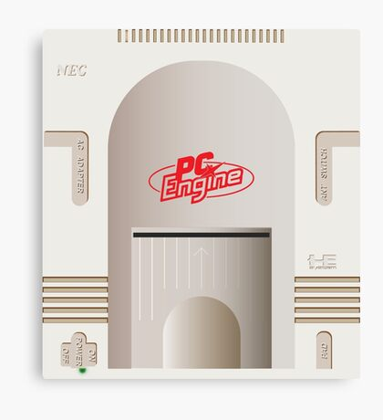 PC Engine Canvas Print