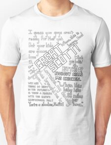 Back to the Future Quotes Unisex T-Shirt