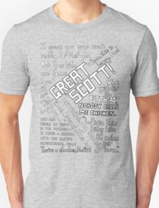 Back to the Future Quotes T-Shirt