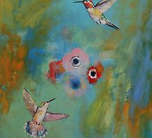 Hummingbird Dance by Michael Creese