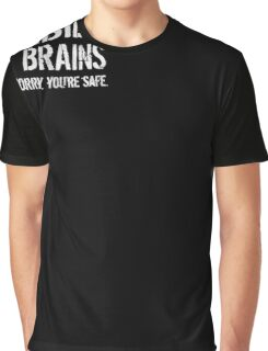 Mens Zombies Eat Brains  Graphic T-Shirt