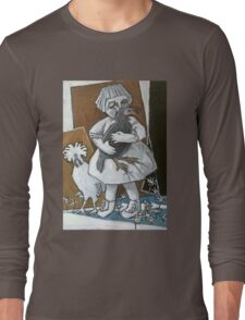 the much loved hen Long Sleeve T-Shirt