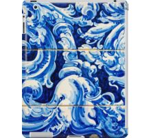 Azulejo - Floral Decoration iPad Case/Skin