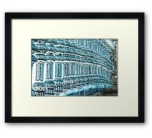 Details in Blue from Seville  Framed Print