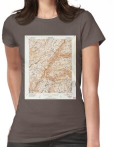 USGS TOPO Map California CA Columbia 297142 1948 62500 geo Womens Fitted T-Shirt