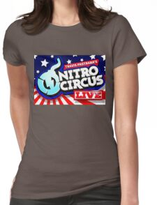 NITRO CIRCUS TOURS 1 Womens Fitted T-Shirt