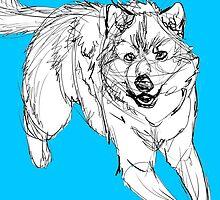 Sketchy Wolf by sketchyscenario