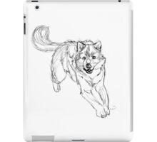 Sketchy Wolf iPad Case/Skin