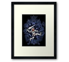 REX ARTHURUS Framed Print