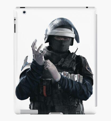 Doc - Rainbow 6 Siege - portrait iPad Case/Skin