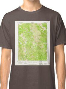 USGS TOPO Map California CA Eden Valley 297381 1952 62500 geo Classic T-Shirt