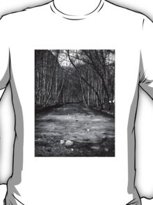 Frozen River - B&W T-Shirt