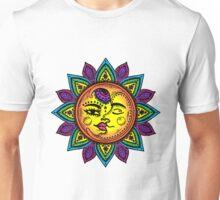 Celestial Sun and Moon Unisex T-Shirt