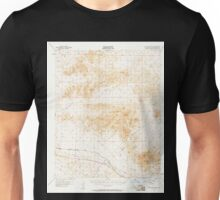 USGS TOPO Map California CA Cady Mountains 296954 1955 62500 geo Unisex T-Shirt