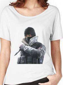 Frost - Rainbow 6 Siege - portrait Women's Relaxed Fit T-Shirt