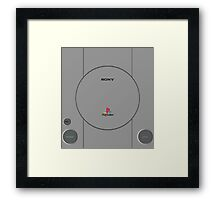 Play The Station Framed Print