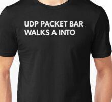 UDP packet bar walks A into Unisex T-Shirt