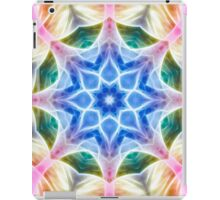Digital abstract mandala color art work iPad Case/Skin