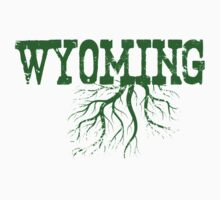 Wyoming State Roots One Piece - Long Sleeve