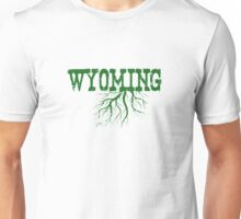 Wyoming State Roots Unisex T-Shirt