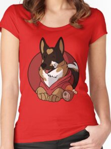 RED Guard Dog Women's Fitted Scoop T-Shirt
