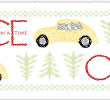 Once Upon a Time Christmas Sticker