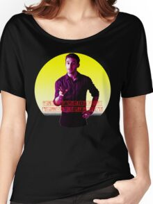 Stop calling Anders Johnson a dwarf! Women's Relaxed Fit T-Shirt