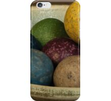 Clay Marbles in a small bowl iPhone Case/Skin