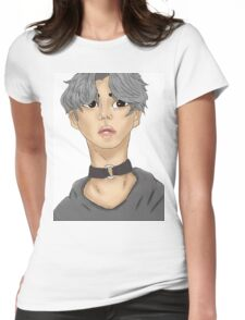 jimin, bts Womens Fitted T-Shirt