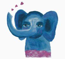 Elephant on cloud no 9 One Piece - Short Sleeve