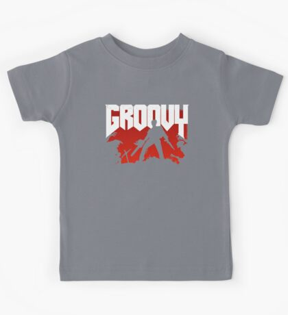 Doomy and Groovy Kids Tee